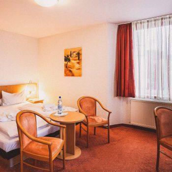 Waldhotel Soodener Hof Bad Sooden Allendorf Doppelzimmer mit Wasserbett